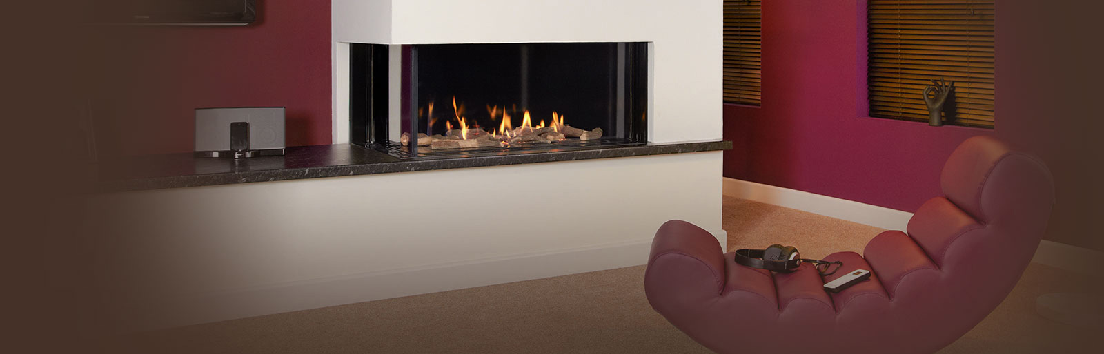 Hole In The Wall Gas Fireplaces London Enviro Flame