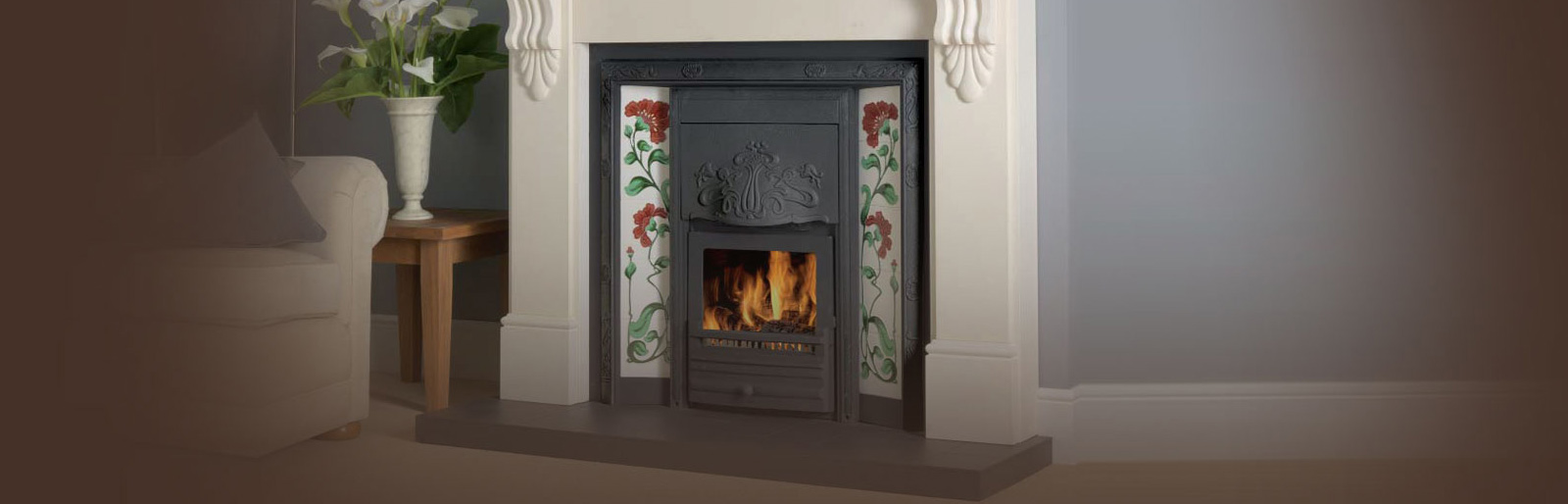 Solid Fuel Glass Fronted Fireplaces Merton Wimbledon Wandsworth Kingston Upon Thames London