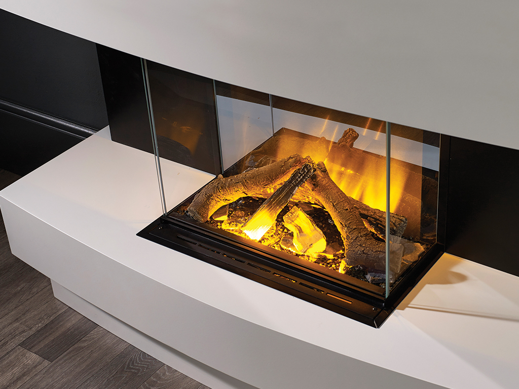 The Sansa Hole in the Wall Electric Fire