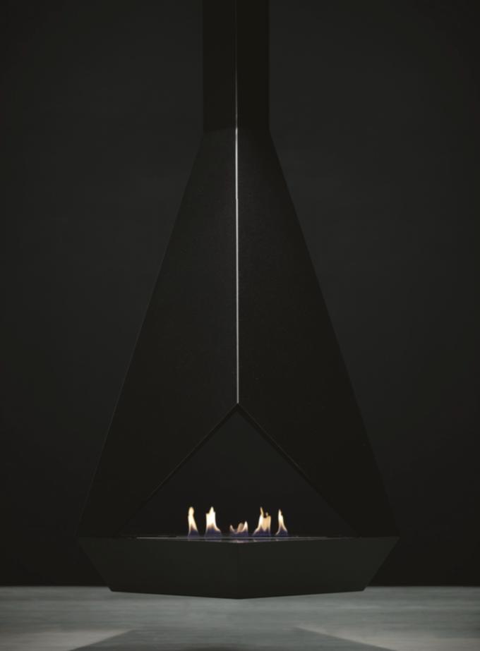 Eudoxus Hanging Bio Ethanol Fireplace