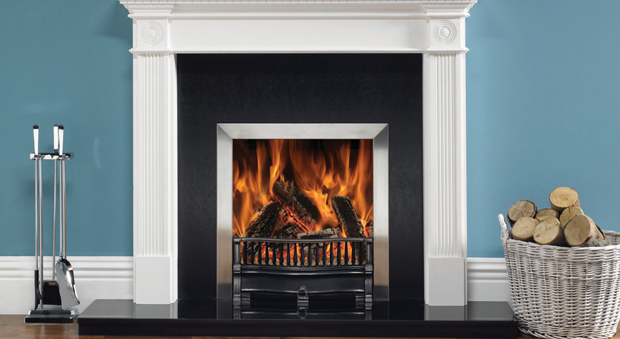 Riva Traditional Wood Burning & Multi-fuel Open Convector Fires