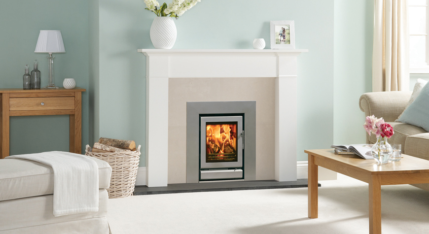 Riva 40 Wood Burning Inset Fires & Multi-fuel Inset Fires