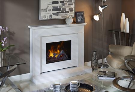 Bali Indulgence Suite (with Shelf) Opti-myst Electic Fire
