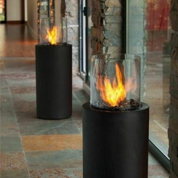 Commercial fires for outdoors