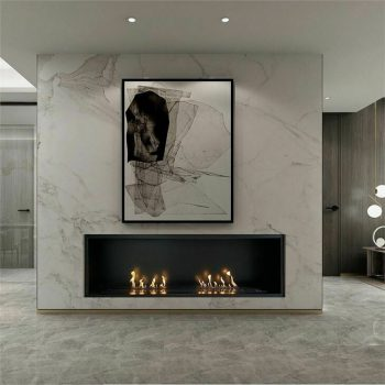 Indoor fireplaces for new build construction