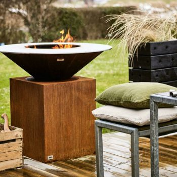 outdoor fires for new build gardens